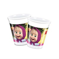 BARDAK MASHA AND THE BEAR 180/200cc 4 Pakette 8 Adet