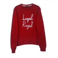 K-POP BTS V - Loyal Royal (Unisex) Uzun Kollu