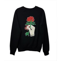 Red Nail and Red Rose - Harajuku (Unisex) Uzun Kollu