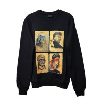 Art - Renaissance Artists And Ninja Turtles  Uzun Kollu (Unisex)