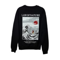 Art - Katsushika Hokusai – The Great Wave Uzun Kollu (Unisex)