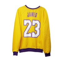 NBA Los Angeles Lakers - Lebron james 23  Uzun Kollu (Unisex)