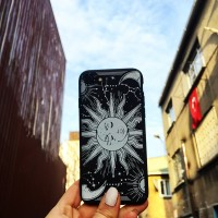 ing Moon And Sun Iphone Telefon Kılıfları