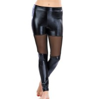 Lady Lingerie S13-8143 Leather Effect Fashion Tayt