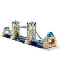 Cubic Fun 3D 120 Parça Puzzle Tower Bridge- İngiltere