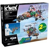 K'Nex Turbo Jet 2 Model (Motorlu) Building Set Knex 16004