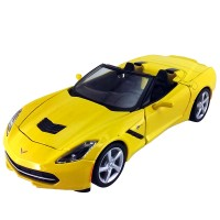 Maisto 2014 Corvette 1:24 Model Araba S/E Sarı