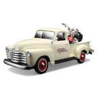 Maisto 1:25 Harley-Davidson 1950 Chevrolet 3100 Pickup Model Arab