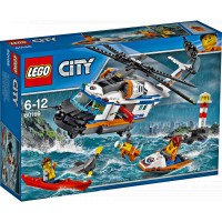 Lego City Rescue Helicopter 60166