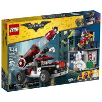 Lego Super Heroes Harley Quinn Cannonball Attack 70921