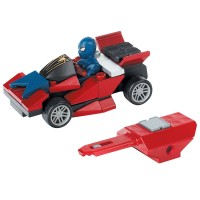 Mega Bloks The Amazing Spiderman Stealth Racer