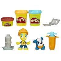 Play Doh Town Road Worker Ve Minik Arkadaşı B5972