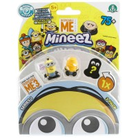 Mineez Minion Despicable Me 3'lü Paket Model 1