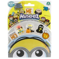 Mineez Minion Despicable Me 3'lü Paket Model 3