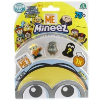 Mineez Minion Despicable Me 3'lü Paket Model 6