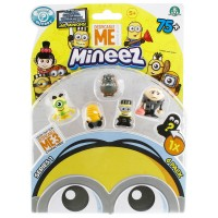 Mineez Minion Despicable Me 6'lı Paket Model 1