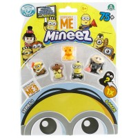 Mineez Minion Despicable Me 6'lı Paket Model 10