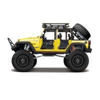 Maisto 2015 Jeep Wrangler Unlimited 1:24 Desing Model Araba Sarı