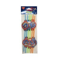 Pipet Superman  Pakette 6 Adet