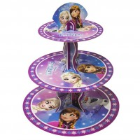 CUPCAKE LİSANSLI STANDI FROZEN NORTHERN LIGHTS Pakette 1 Adet