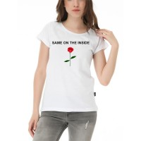 Harajuku - Same On The Inside Kadın T-Shirt