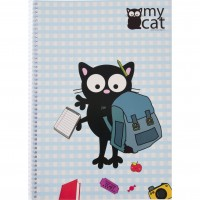 My Cat - A4 Kareli Defter