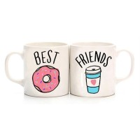 Donut & Kahve Best Friends Kupa