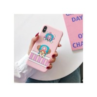 One Piece Anime : Chopper Pembe Iphone Telefon Kılıfları