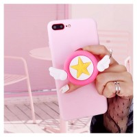 Sailor Moon Pink Star Tutuculu Pembe Iphone Telefon Kılıfları