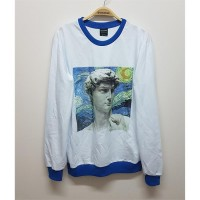 Van Gogh - The Starry Night & Michelangelo (Unisex) Uzun Kollu