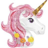 FOLYO BALON UNICORN MAGICAL 83X73 CM ANAGRAM MARKA  Pakette 1 Adet