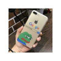 Negative Sad Frog Iphone Telefon Kılıfları