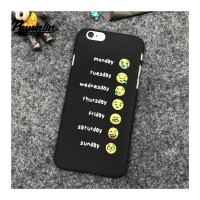 Days Of The Week Funny Emoji - iPhone 6 Telefon Kılıfı