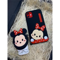 Minnie Mouse Airpod Ve Iphone Telefon Kılıfı Takım