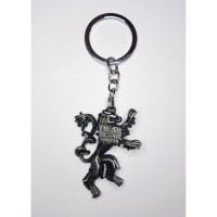 "Game of Thrones - ""Lannister"" (SILVER) Hear Me Roar House Crest  Anahtarlık"