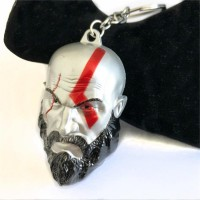 God Of War - Kratos Metal Anahtarlık