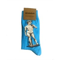 Michelangelo - David Bubble Unisex Çorap