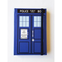 Doctor Who Police Box Defter
