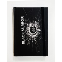 Black Mirror Logo Defter