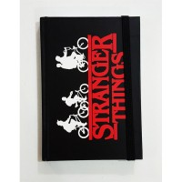 Stranger Things - Bicycle Childs Siyah Defter