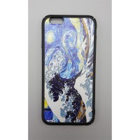 Art - Starry Night & The Great Wave İphone Modelleri Telefon Kılıfı