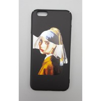 Art - Billie Eilish Girl with a Pearl Earring Iphone Modelleri Telefon Kılıfı