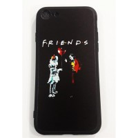 Joker And Pennywise - Friends Iphone Modelleri Telefon Kılıfı