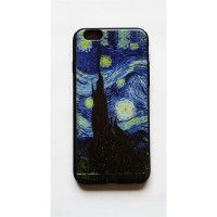 Van Gogh - The Starry Night - Yıldızlı Gece Iphone 7 - 8  Telefon Kılıfı