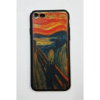 Edvard Munch - The Scream  iPhone 7 - 8  Telefon Kılıfı