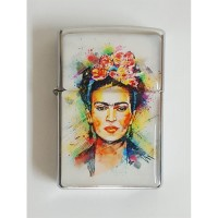 Frida Kahlo - Water Colour Portre Çakmak