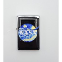 Art - Nasa Starry Night Siyah Çakmak