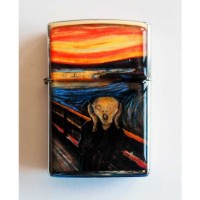 Edvard Munch - The Scream Çakmak