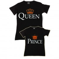 Queen & Prince Anne - Oğul Aile T-shirtleri