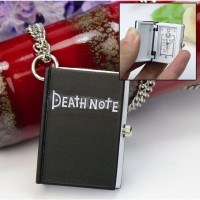 Death Note Book Kolye